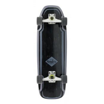 Mindless Surf Skate Black - Surf Skate Complete