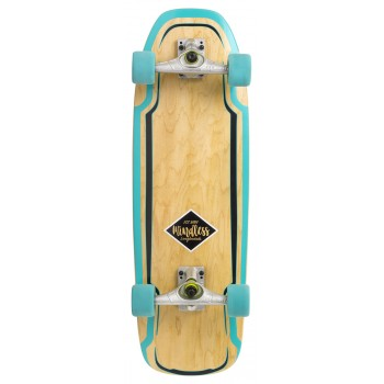Mindless Surf Skate Green - Longboard Complete